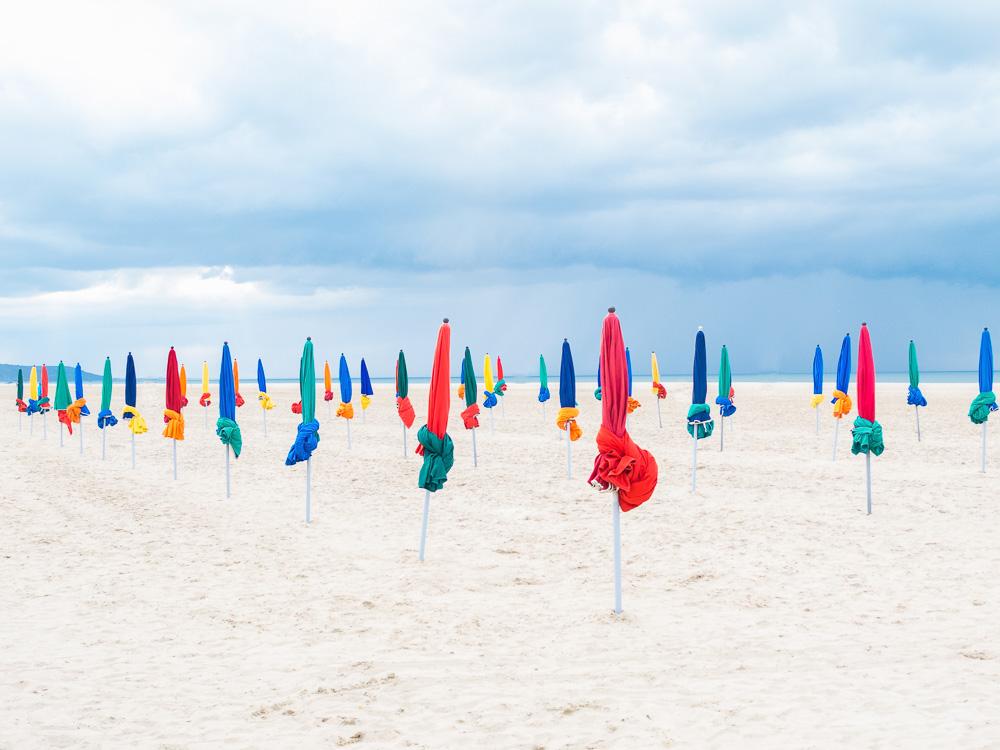 Deauville parapluies