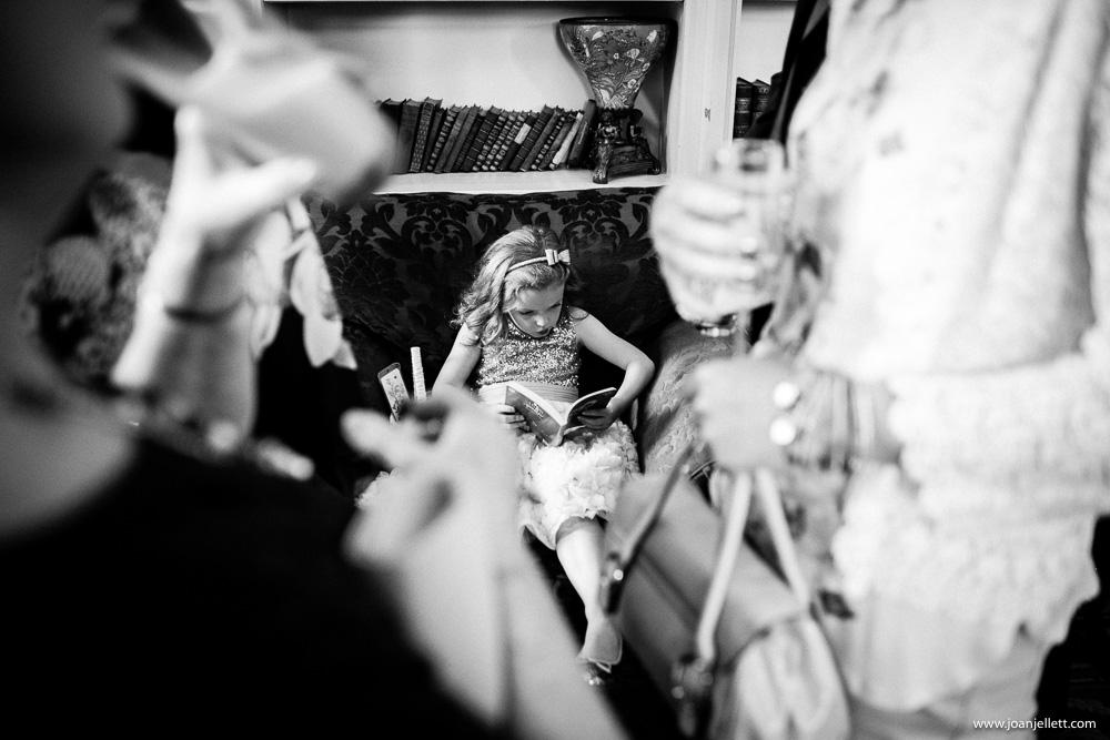 little bridesmaid reading