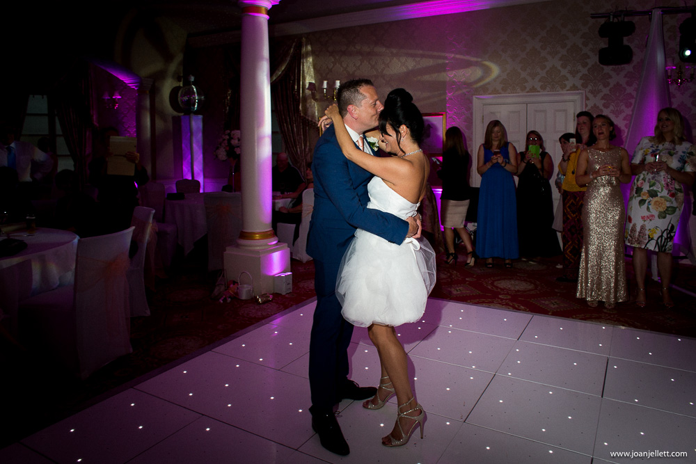 first dance at the Luton Hoo