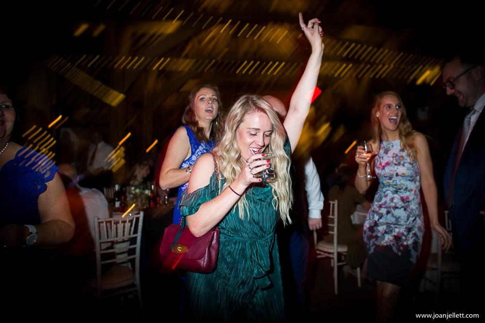 drunk guest dancing