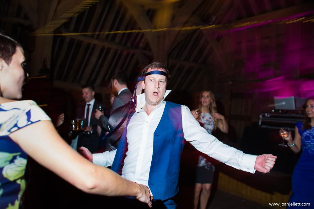 guest dancing hard
