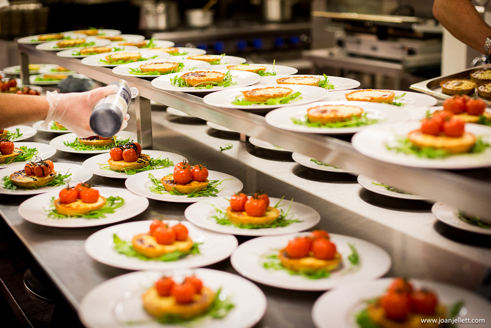 food in the kitchens of south farm