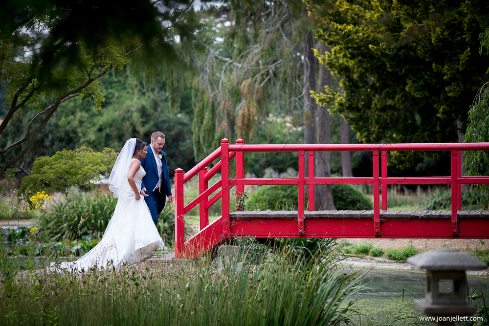 bride and groom portrait at Fanhams Hall An Exclusive Venue Wedding Photography