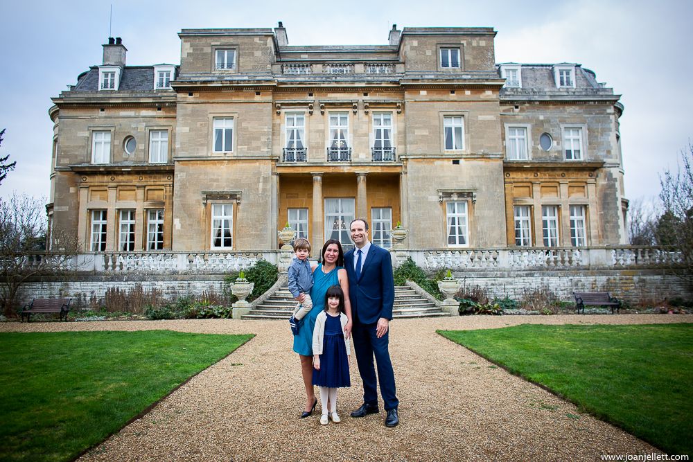 Geoff and his wife at the Luton Hoo