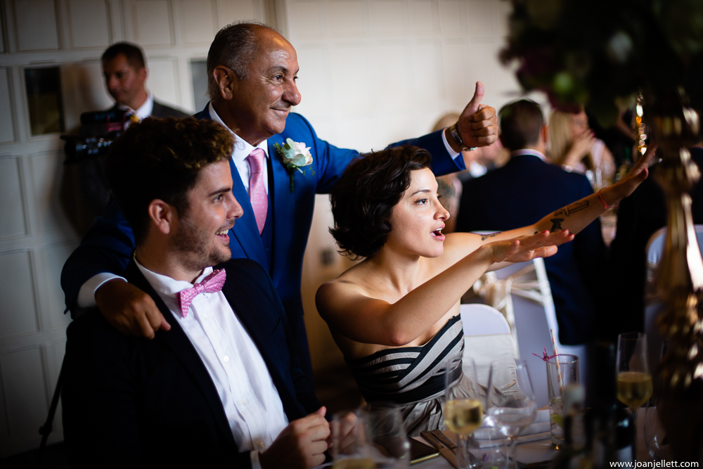 guests dancing with Ossie