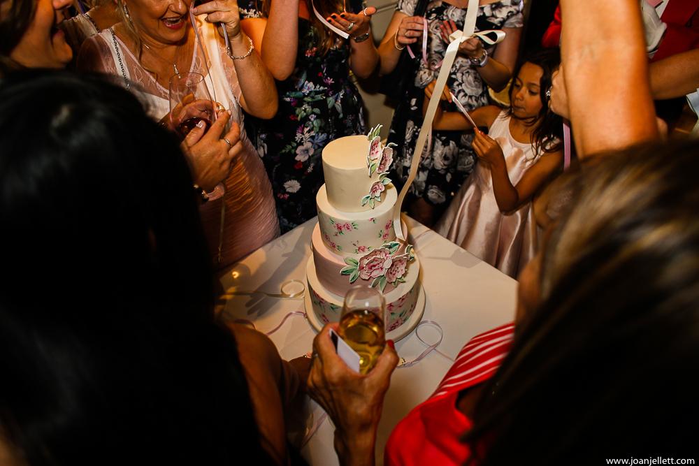 wedding cake shot